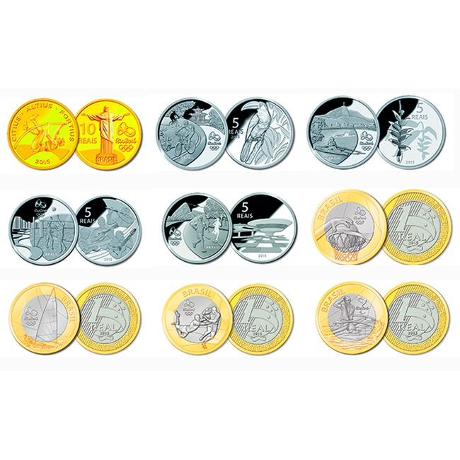 Монеты олимпиада в рио 2016 форум чернокопателей