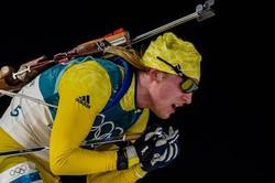 Шведские биатлонисты выиграли олимпийскую эстафету в Пхёнчхане