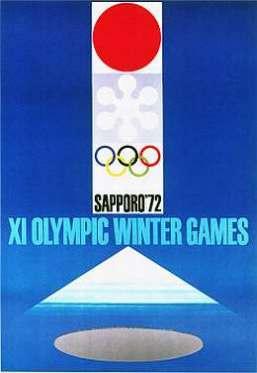 Эмблема, талисман, плакат Олимпийских Игр в Саппоро 1972 ... Олимпийские Кольца