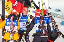 Немки выиграли эстафету на этапе Кубка мира в Рупольдинге, россиянки— 13-ые