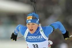 Финка Макарайнен— победительница спринта на этапе Кубка мира в Рупольдинге, Акимова— 15-ая