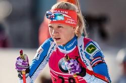 Финка Макарайнен— победительница гонки преследования на этапе КМ в Рупольдинге, Акимова— 13-ая