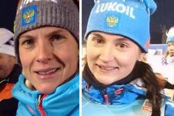 Российские лыжницы Матвеева и Белорукова выиграли командный спринт на этапе КМ в Тоблахе