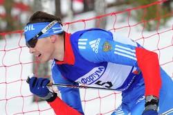Российский лыжник Пётр Седов— победитель скиатлона на этапе Кубка мира в Пхенчхане