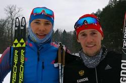 Российские лыжники выиграли золото и бронзу в командном спринте на этапе Кубка мира в Пхенчхане