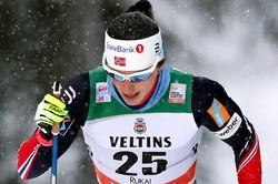 Норвежка Бьорген выиграла гонку на 10км на этапе Кубка мира в Отепя, Седова— седьмая