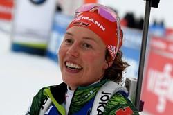 Немцкая биатлонистка Дальмайер — олимпийская чемпионка Пхёнчхана в спринте, Акимова — 20-ая
