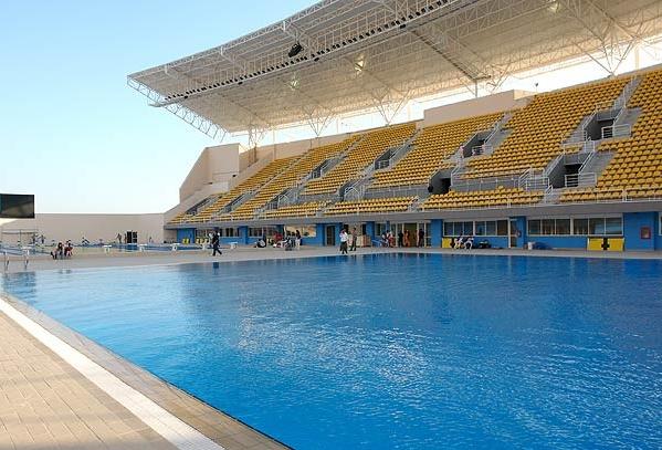 Вода волимпийском бассейне вРио позеленела