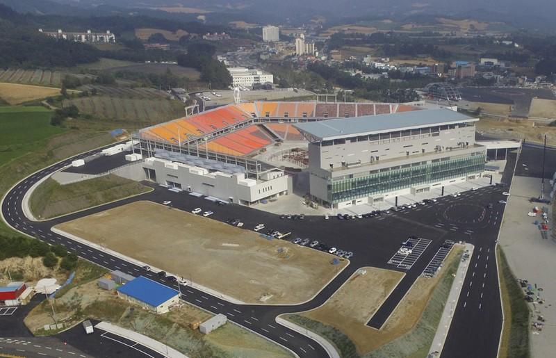 Олимпийские объекты пхенчхан 2018 купить памятники из мраморной крошки